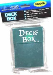 Deck Box Dark Green on Channel Fireball