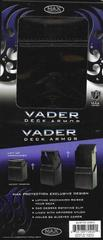 Max Armor Vader Deck Box in Black Leather
