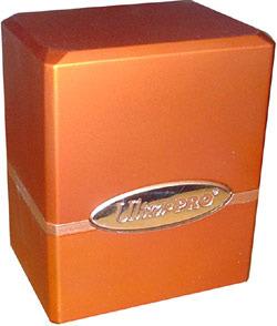 Satin Deck Box - Orange