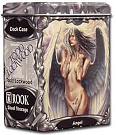 Rook Capsule Artist Series (Gallery One) Steel Alloy Deck Case - Angel - Todd Lockwood