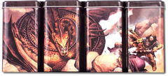Rook Steel Storage Artist Series Deck Case Mark Zug: Lord of the Defiled (Gallery 2, Tetraptic set of 4 tins)