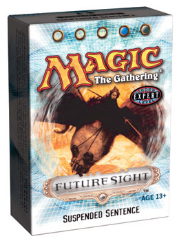 Future Sight Suspended Sentence Precon Theme Deck