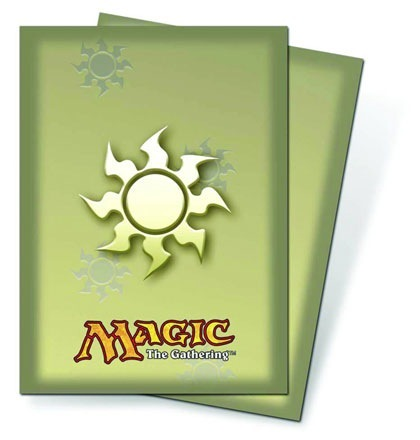 Ultra Pro Deck Protector White Mana Symbol (80 ct)