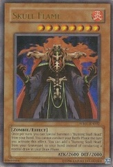 Skull Flame - WB01-EN002 - Ultra Rare - Promo Edition on Channel Fireball