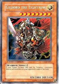 Gilford the Lightning - CT2-EN001 - Secret Rare - Limited Edition