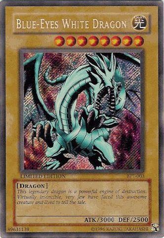 Blue-Eyes White Dragon A - BPT-003 - Secret Rare - Limited Edition