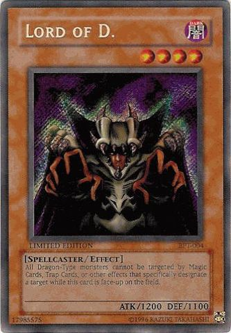 Lord of D. - BPT-004 - Secret Rare - Limited Edition