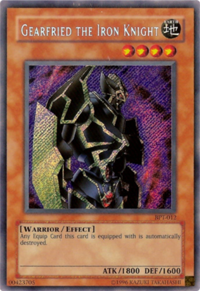 Gearfried the Iron Knight - BPT-012 - Secret Rare - Limited Edition