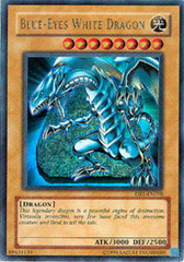 Blue-Eyes White Dragon - DB1-EN098 - Ultra Rare - Unlimited Edition