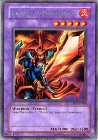 Flame Swordsman - DB1-EN100 - Rare - Unlimited Edition