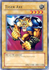 Tiger Axe - DB2-EN091 - Common - Unlimited Edition