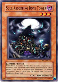 Soul-Absorbing Bone Tower - DR2-EN123 - Common - Unlimited Edition