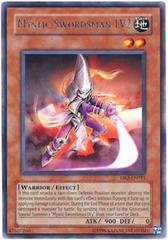 Mystic Swordsman LV2 - DR3-EN011 - Rare - Unlimited Edition