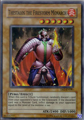 Thestalos the Firestorm Monarch - DR3-EN081 - Super Rare - Unlimited Edition