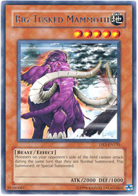 Big-Tusked Mammoth - DR3-EN135 - Rare - Unlimited Edition
