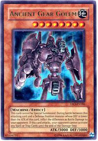 Ancient Gear Golem - DR3-EN186 - Ultra Rare - Unlimited Edition