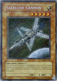 Satellite Cannon - DR04-EN241 - Secret Rare - Unlimited Edition