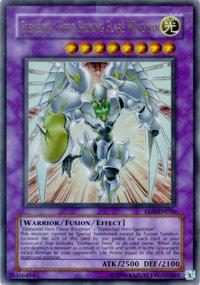 Elemental Hero Shining Flare Wingman - DR04-EN096 - Ultra Rare - Unlimited Edition