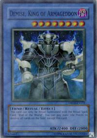Demise, King of Armageddon - DR04-EN155 - Super Rare - Unlimited Edition