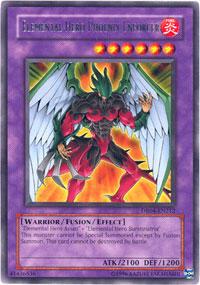 Elemental Hero Phoenix Enforcer - DR04-EN212 - Rare - Unlimited Edition