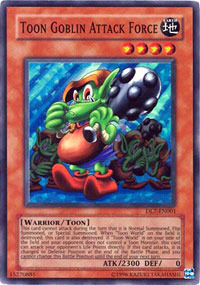 Toon Goblin Attack Force - DL7-EN001 - Super Rare - Limited Edition