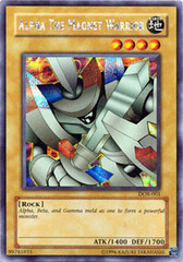 Alpha the Magnet Warrior - DOR-001 - Secret Rare - Unlimited Edition