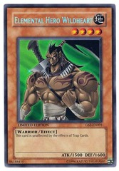 Elemental Hero Wildheart - GSE-EN001 - Secret Rare - Limited Edition