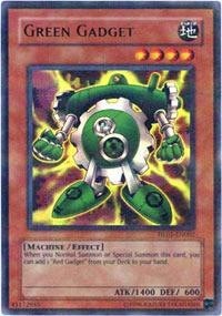 Green Gadget - HL05-EN002 - Parallel Rare - Promo Edition