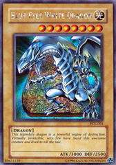 Blue-Eyes White Dragon - PCK-001 - Secret Rare - Promo Edition on Channel Fireball