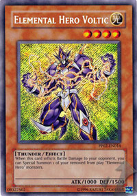 Elemental Hero Voltic - PP02-EN014 - Secret Rare - Unlimited Edition