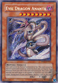 Evil Dragon Ananta - PP02-EN017 - Secret Rare - Unlimited Edition