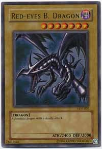 Red-Eyes B. Dragon - SDJ-001 - Ultra Rare - 1st Edition