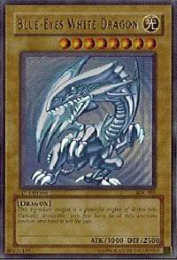 Blue-Eyes White Dragon - SDK-001 - Ultra Rare - 1st Edition