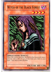 Witch of the Black Forest - SDP-014 - Common - 1st Edition