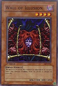 Wall of Illusion - SDY-034 - Common - 1st Edition