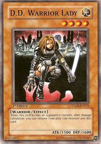 D.D. Warrior Lady - SDDE-EN010 - Common - 1st Edition