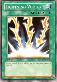 Lightning Vortex - SDDE-EN026 - Common - 1st Edition