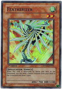 Featherizer - SDWS-EN003 - Super Rare - 1st Edition