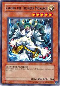Zaborg the Thunder Monarch - TP8-EN006 - Rare - Unlimited Edition