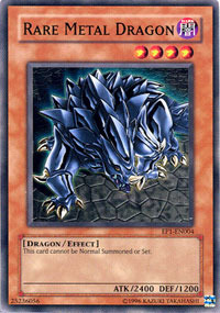 Rare Metal Dragon - EP1-EN004 - Common - Promo Edition