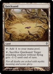 Quicksand on Channel Fireball