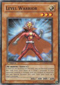 Level Warrior - DP09-EN007 - Common - 1st Edition