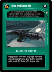 Battle Droid Blaster Rifle - Common