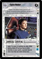 Captain Madakor - Rare