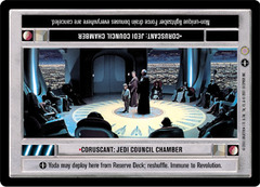 Coruscant: Jedi Council Chamber