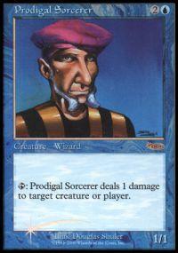 Prodigal Sorcerer - Foil FNM 2000