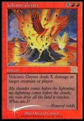 Volcanic Geyser - Foil FNM 2000