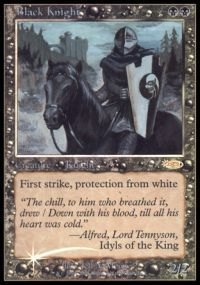 Black Knight - Foil FNM 2002