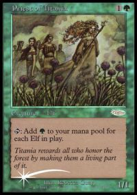 Priest of Titania - Foil FNM 2003