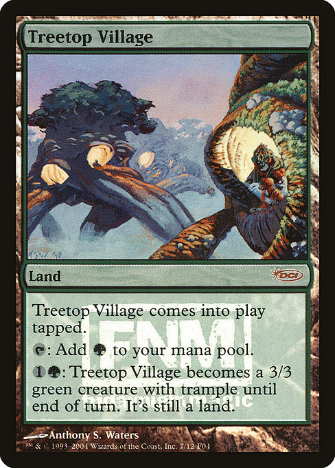 Treetop Village - Foil FNM 2004